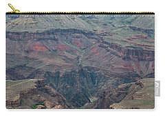 Carry-all Pouch featuring the photograph Down Into The Canyon by Kirt Tisdale