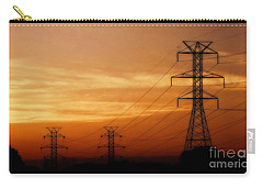 Down The Line Carry-all Pouch by Christy Ricafrente