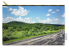 Carry-all Pouch featuring the photograph Down The Road by Ricky L Jones