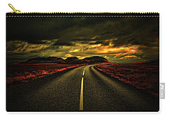 Carry-all Pouch featuring the photograph Down The Road by Scott Mahon