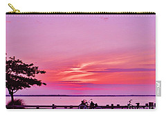 Summer Down The Shore Carry-all Pouch by Susan Carella