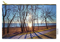 Carry-all Pouch featuring the photograph Down This Way We Meander by Phil Koch