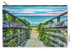 Down To The Beach Carry-all Pouch