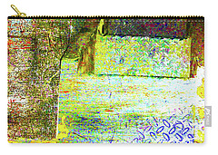 Carry-all Pouch featuring the mixed media Down by Tony Rubino
