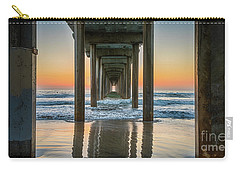 Down Under Scripp's Pier  Carry-all Pouch