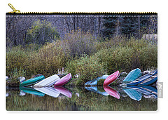 Downtime At Beaver Lake Carry-all Pouch by Alana Thrower