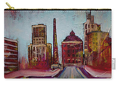 Downtown Asheville Painting Pack Square North Carolina City  Carry-all Pouch