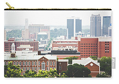 Carry-all Pouch featuring the photograph Downtown Birmingham - The Magic City by Shelby Young