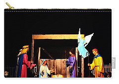 Downtown Breckenridge Nativity Carry-all Pouch