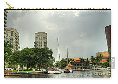 downtown Ft Lauderdale waterfront Carry-all Pouch