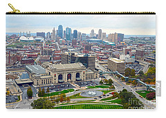 Downtown Kansas City From Liberty Memorial Tower Carry-all Pouch