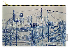 Downtown Louisville Carry-all Pouch by Stacy C Bottoms