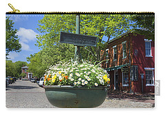 Downtown Nantucket - Garden View 46y Carry-all Pouch