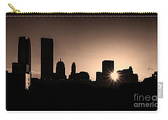 Carry-all Pouch featuring the photograph Downtown Oklahoma City by Betty LaRue