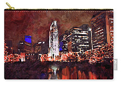 Downtown Omaha Carry-all Pouch