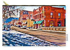 Downtown Salida Hotels Carry-all Pouch