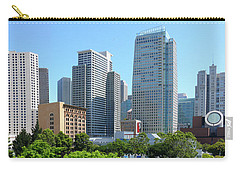 Carry-all Pouch featuring the photograph Downtown San Fransisco by Mike McGlothlen
