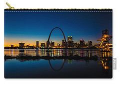 Downtown St. Louis And The Gateway Arch Carry-all Pouch