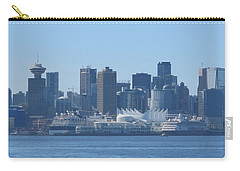 Downtown View From North Vancouver Carry-all Pouch