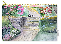 Dozing Carry-all Pouch by Christine Lathrop