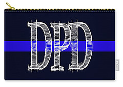 Dpd Blue Line Mug Carry-all Pouch