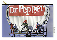 Dr Pepper And The Avengers Carry-all Pouch