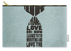 Carry-all Pouch featuring the digital art Dr. Strangelove Or How I Learned To Stop Worrying And Love The Bomb by Ayse Deniz