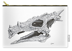 Dracorex Hogwartsia Skull Carry-all Pouch