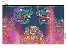 Dragon Con Parade Carry-all Pouch by Megan Dirsa-DuBois