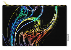 Carry-all Pouch featuring the photograph Dragon Dance by Mark Blauhoefer