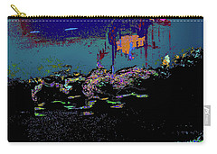 Dragon Dances To The Night Skie Color Filing System Carry-all Pouch