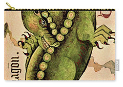 Carry-all Pouch featuring the painting Dragon Dragon by Lora Serra