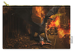 Dragon Flame Carry-all Pouch