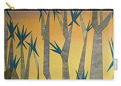 Dragon Trees Carry-all Pouch by Tamara Savchenko