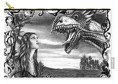Dragon Whisperer  Carry-all Pouch by Peter Piatt