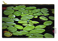 Dragonfly Among The Lily Pads Carry-all Pouch