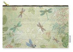 Dragonfly Dream Carry-all Pouch by Peggy Collins