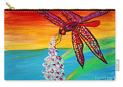 Dragonfly Ecstatic Carry-all Pouch