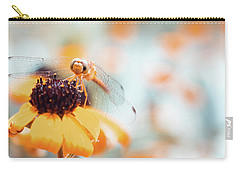 Dragonfly In The Garden Carry-all Pouch