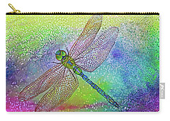 Dragonfly Blue Carry-all Pouch
