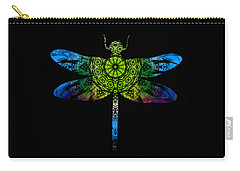 Dragonfly Kaleidoscope Carry-all Pouch