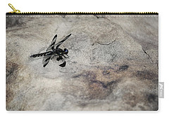 Dragonfly On Solid Ground Carry-all Pouch