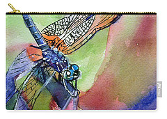 Dragonfly Of Many Colors Carry-all Pouch