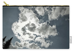 Carry-all Pouch featuring the photograph Drama In The Sky by Karen Stahlros
