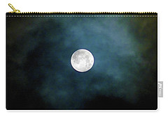 Drama Queen Full Moon Carry-all Pouch by Menega Sabidussi