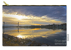Dramatic Cape Cod Canal Sunrise Carry-all Pouch