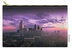 Dramatic Charlotte Sunrise Carry-all Pouch by Serge Skiba