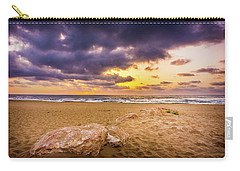 Dramatic Sunrise, La Mata, Spain. Carry-all Pouch