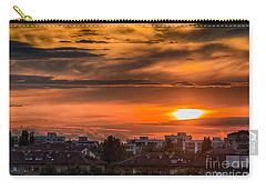Dramatic Sunset Over Sofia Carry-all Pouch