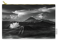 Dramatic View Of Mount Bromo Carry-all Pouch